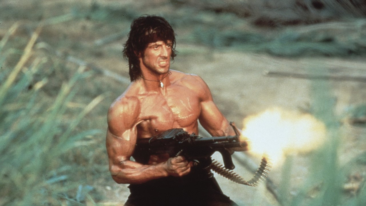 Rambo First Blood Part 2 1985 Sylvester Stallone