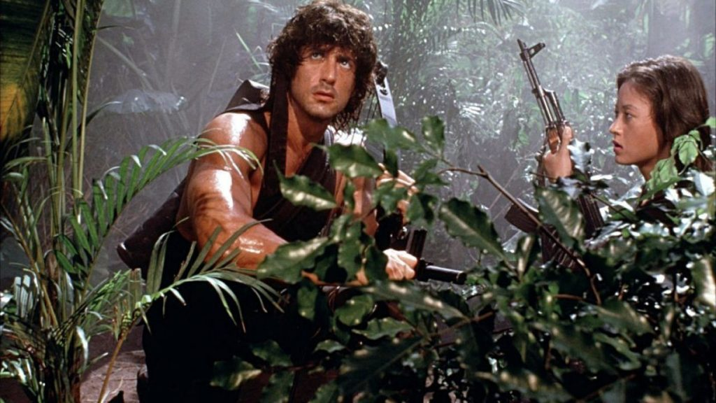 Rambo First Blood Part 2 Sylvester Stallone Julia Nickson