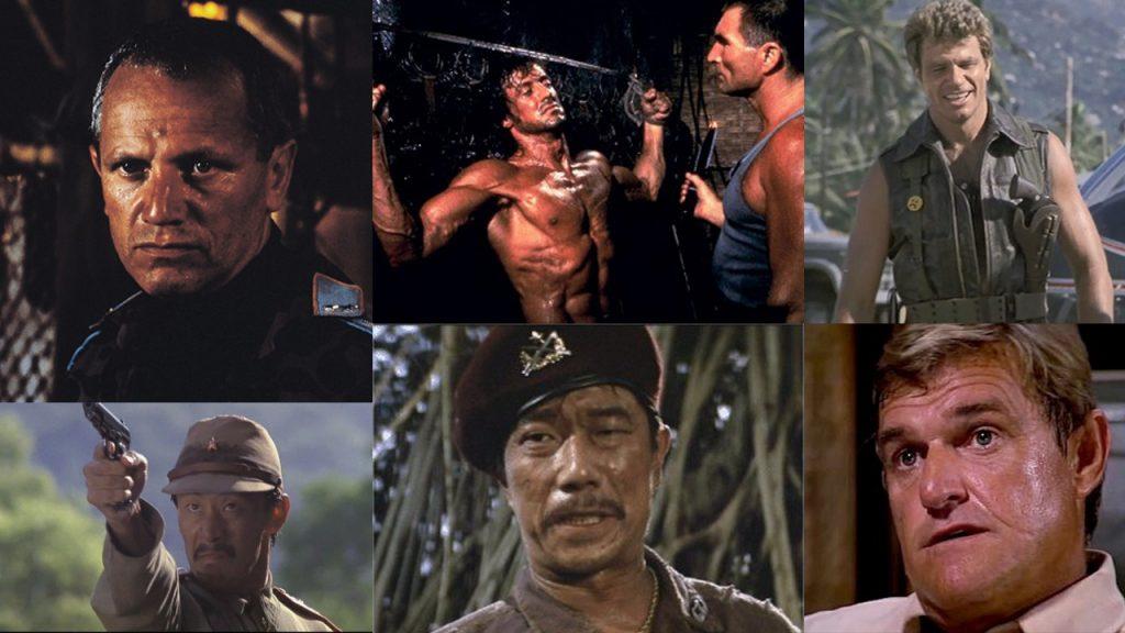 Rambo First Blood Part 2 Villains