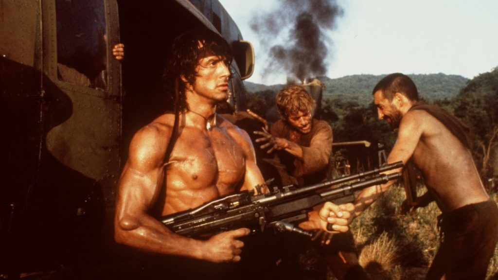 Sylvester Stallone Rambo First Blood Part 2 1985 action movie classic