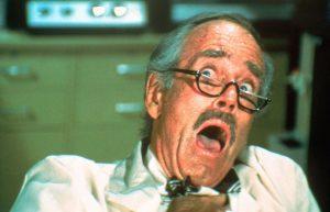 Henry Fonda Swarm 1978 disaster movie death scene