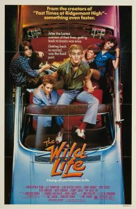 The Wild Life 1984 teen comedy movie poster