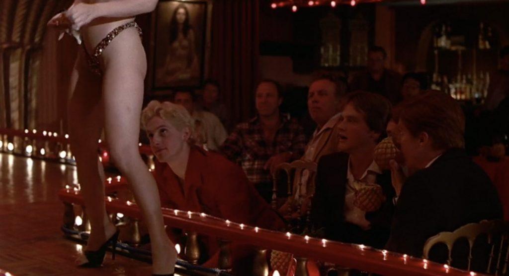 Wild Life 1984 comedy Chris Penn strip club scene