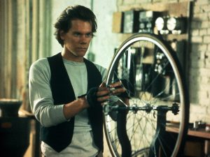 Kevin Bacon in Quicksilver 1986 bike messenger movie