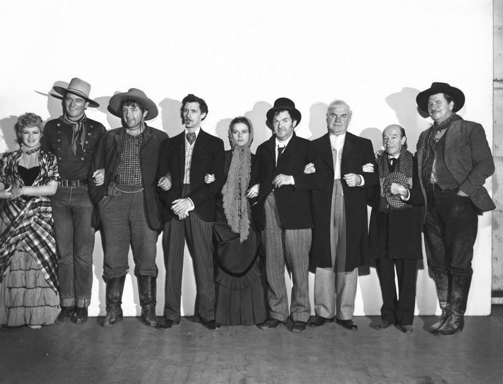 Stagecoach 1939 western cast John Wayne Ford