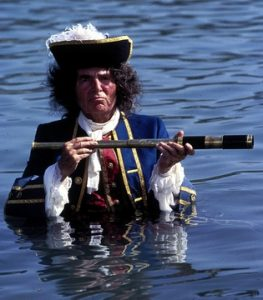 James Mason in Yellowbeard 1983 pirate comedy