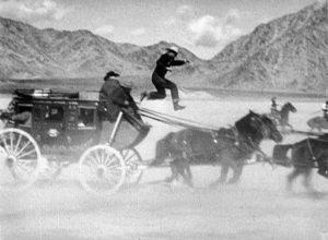 Stagecoach 1939 John Wayne western horse stunt
