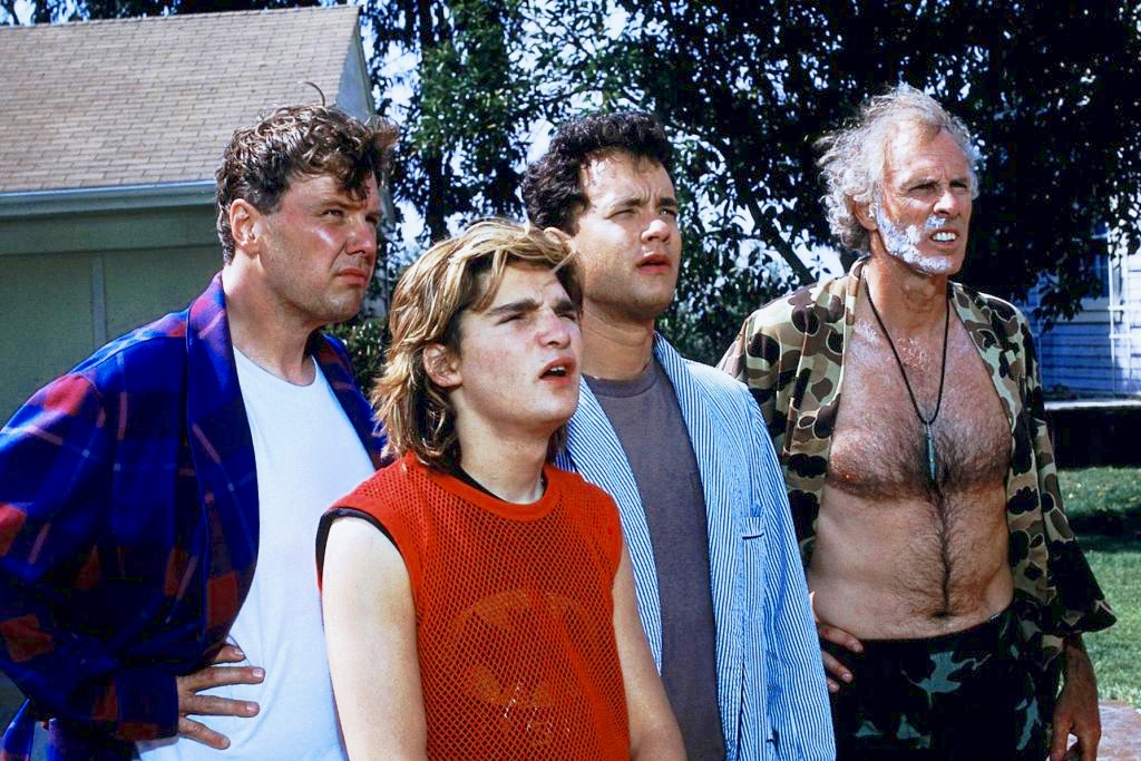 The 'Burbs 1989 comedy Tom Hanks Rick Ducommun Bruce Dern Corey Feldman
