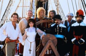 Yellowbeard 1983 pirate comedy cast