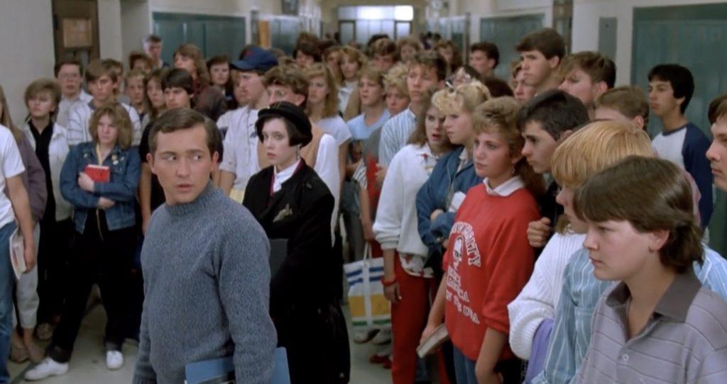 Casey Siemaszko Three O'Clock High 1987 school comedy