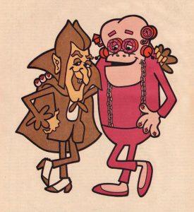 Count Chocula Franken Berry monster cereal original vintage 1971 characters