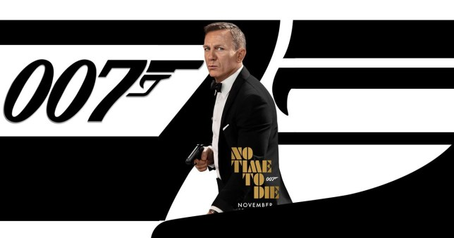 Daniel Craig James Bond No Time To Die Film Poster November 2020