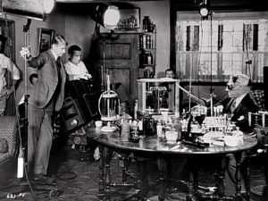 Invisible Man 1933 James Whale Claude Rains filming