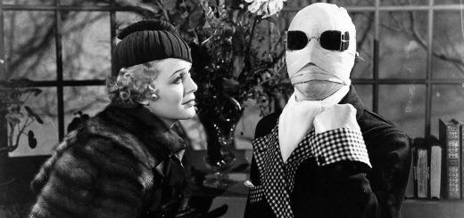 Invisible Man 1933 Universal classic horror movie Claude Rains Gloria Stuart