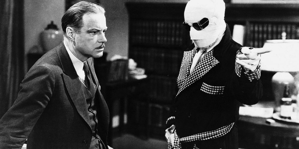 Invisible Man 1933 William Harrigan Claude Rains James Whale
