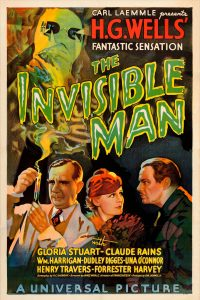 Invisible Man 1933 classic Universal movie film poster