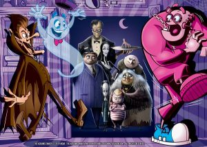 Monster Cereals Count Chocula Franken Boo Berry Addams Family
