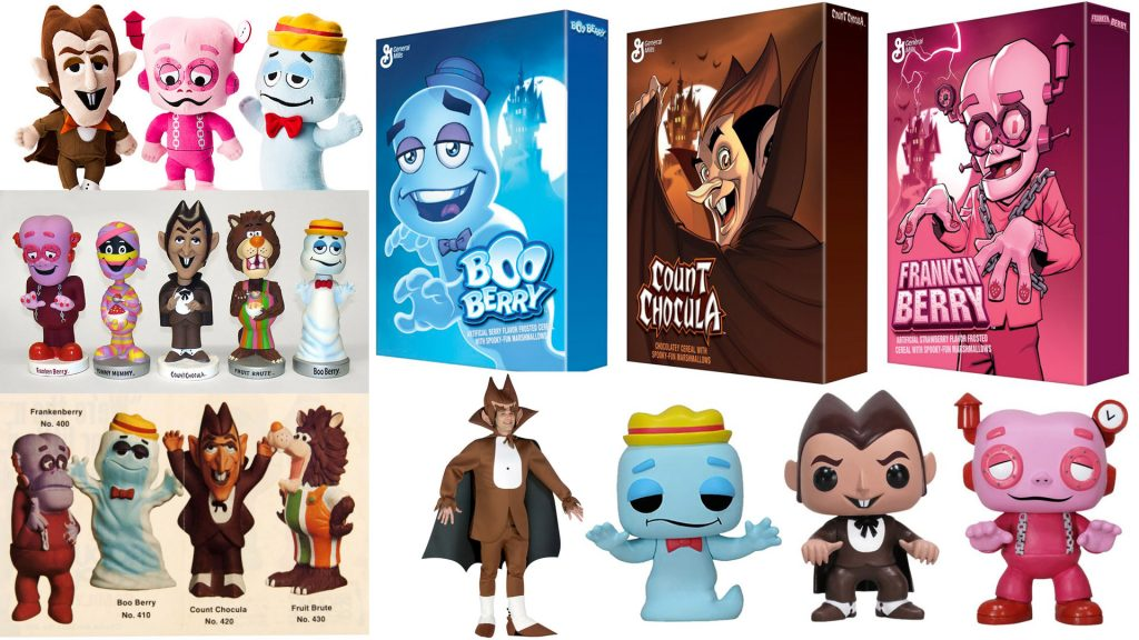 Monster Cereals toys merchandise dolls costume collectible