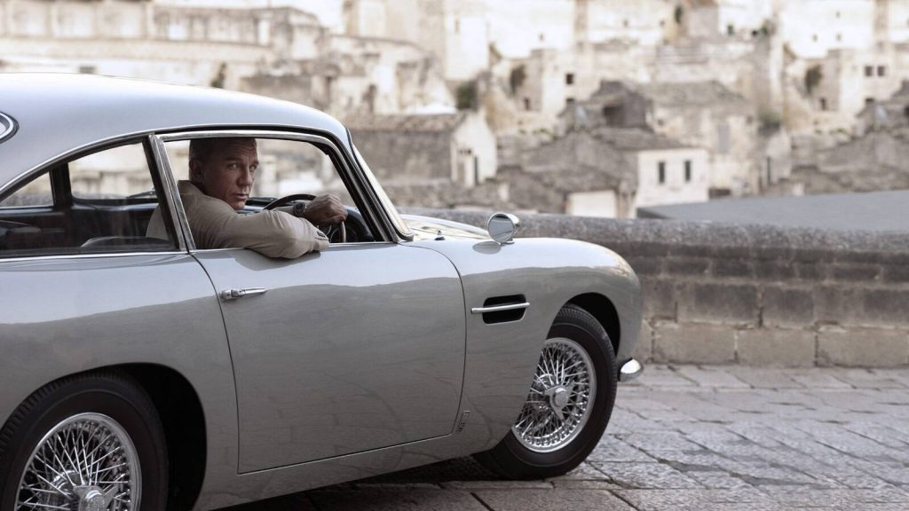No Time To Die James Bond Daniel Craig Aston Martin DB5
