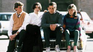 Three O'Clock High 1987 classic cult school comedy cast