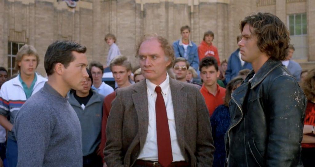 Three O'Clock High 1987 cult comedy school bully