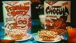 Franken Berry Count Chocula television commercial