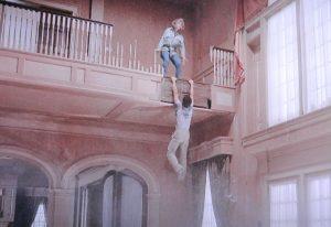 Money Pit 1986 Shelley Long Tom Hanks staircase scene