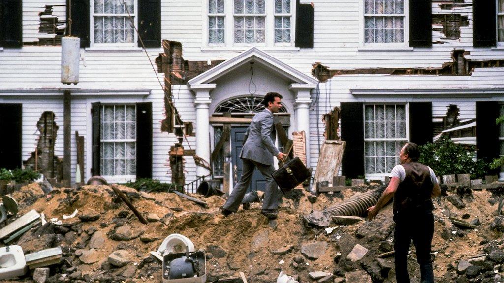 Money Pit 1986 comedy Tom Hanks Philip Bosco house destruction