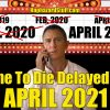 No Time To Die Delayed Again – April 2021