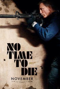No Time To Die movie poster Daniel Craig James Bond 007