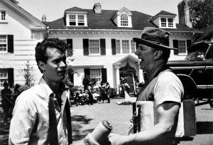 Tom Hanks Philip Bosco Money Pit 1986 two wees scene
