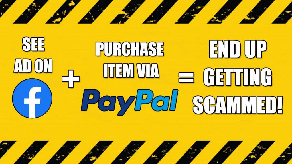 Facebook Ad Scam Paypal