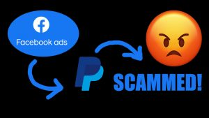 Facebook Ad Scam Paypal China online shopping Fraud Victim
