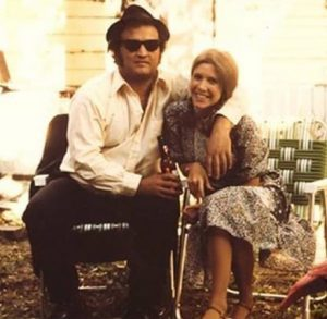 John Belushi Carrie Fisher Blues Brothers behind the scenes