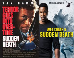 Sudden Death movie poster Jean-Claude Van Damme Michael Jai White remake