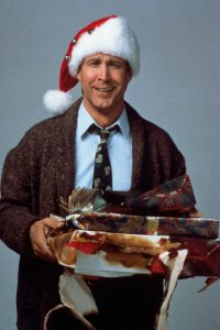 Chevy Chase Clark Griswold Christmas Vacation 1989 holiday comedy