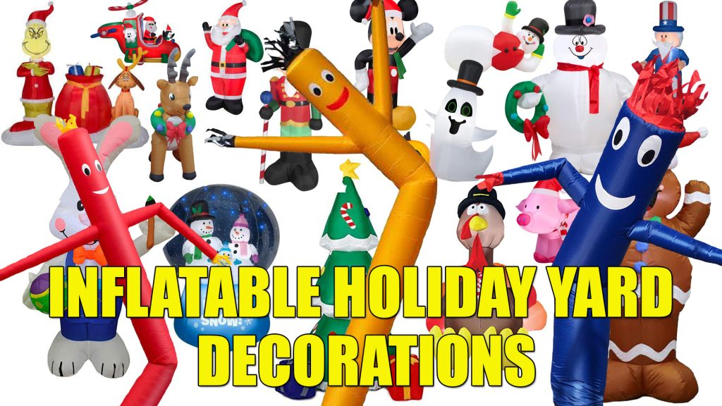 Inflatalble Holiday Yard Decorations trend craze popular