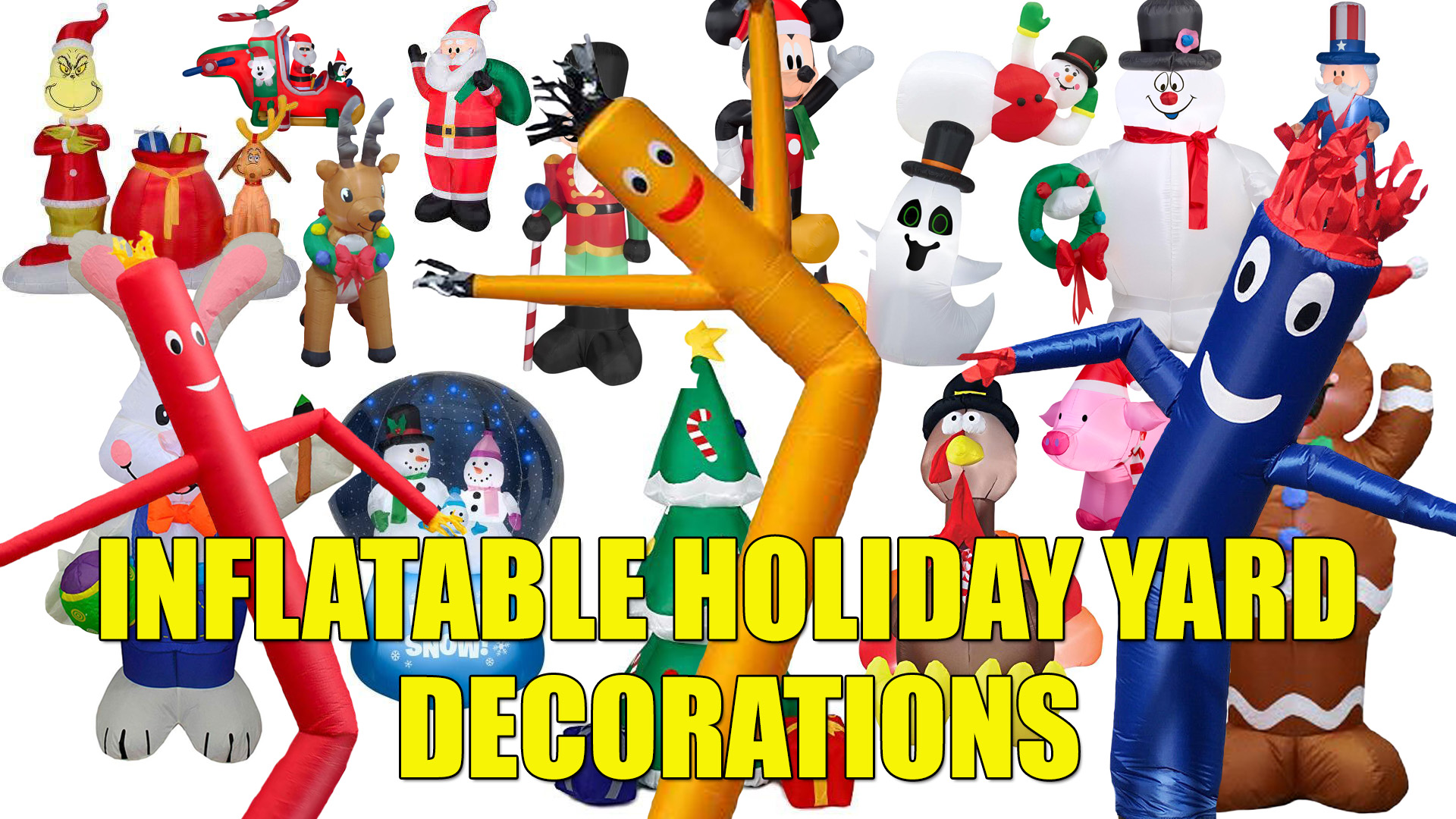 Inflatalble Holiday Yard Decorations