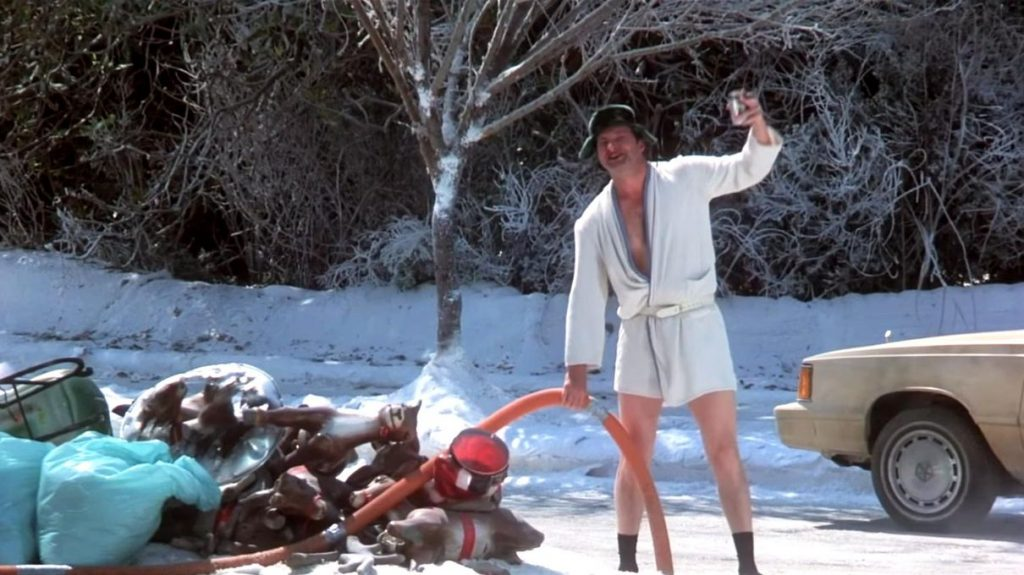 Randy Quaid Cousin Eddie Chrstimas Vacation 1989 holiday comedy shitter full