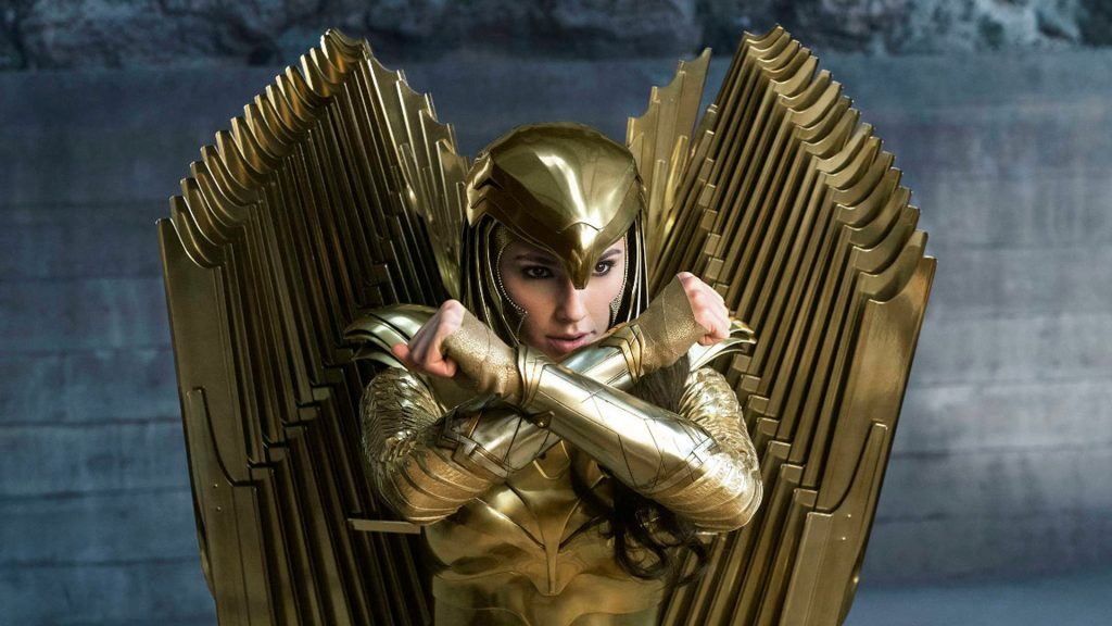 Gal Gadot Gold Armor Wonder Woman 1984