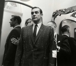 Sean-Connery-James-Bond-fitted-suit-tailor