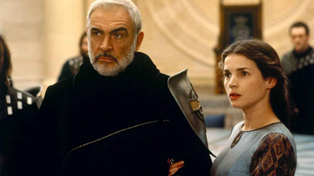 First-Knight-1995-Sean-Connery-Julia-Ormand