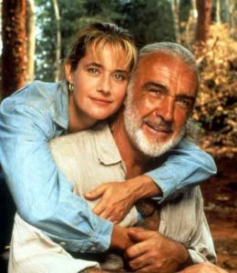 Lorraine-Bracco-Sean-Connery-Medicine-Man-1992