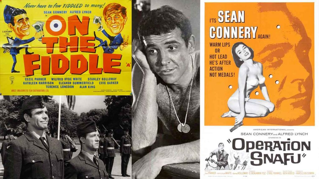 On-The-Fiddle-Operation-Snafu-1961-Sean-Connery-Alfred-Lynch-comedy