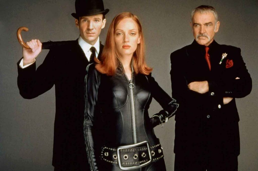 Ralph-Fiennes-Uma-Thurman-Sean-Connery-The-Avengers-1998