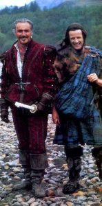 Sean-Connery-Christopher-Lambert-Highlander-1986-behind-scenes