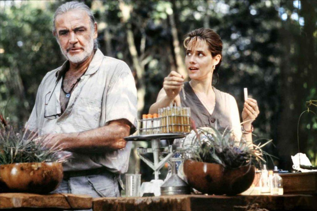 Sean-Connery-Lorraine-Bracco-Medicne-Man-1992