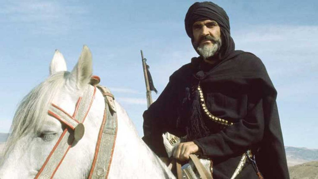 Sean-Connery-The-Wind-Lion-Arab-1975