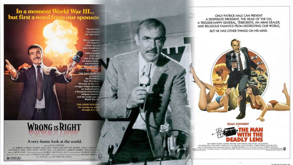 Sean-Connery-Wrong-Is-Right-Man-With-Deadly-Lens-1982-movie-poster