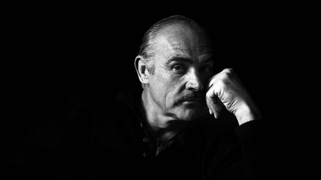 Sean-Connery-black-white-portrait